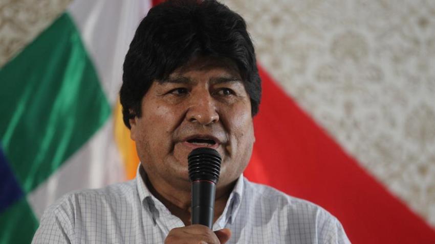 El expresidente de Bolivia, Evo Morales