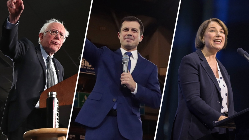 As precincts continue to report during the New Hampshire primary, Sen. Bernie Sanders, former Midwestern Mayor Pete Buttigieg and Sen. Amy Klobuchar are expected to finish in the top three.