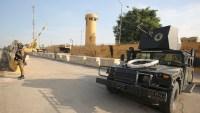 Un cohete impacta dentro de la Embajada de EEUU en Bagdad