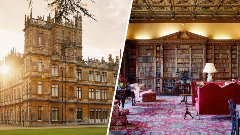 """Ofrecen que pases una noche en el castillo de """"Downton Abbey"""""""