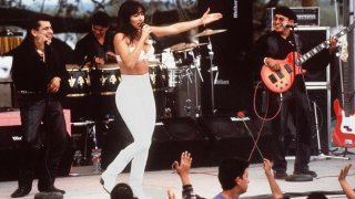 Actress Jennifer Lopez as Selena