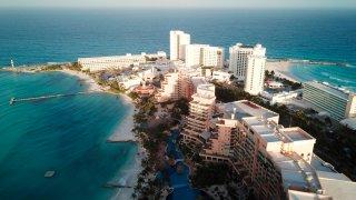 Cancún sin ocupación hotelera