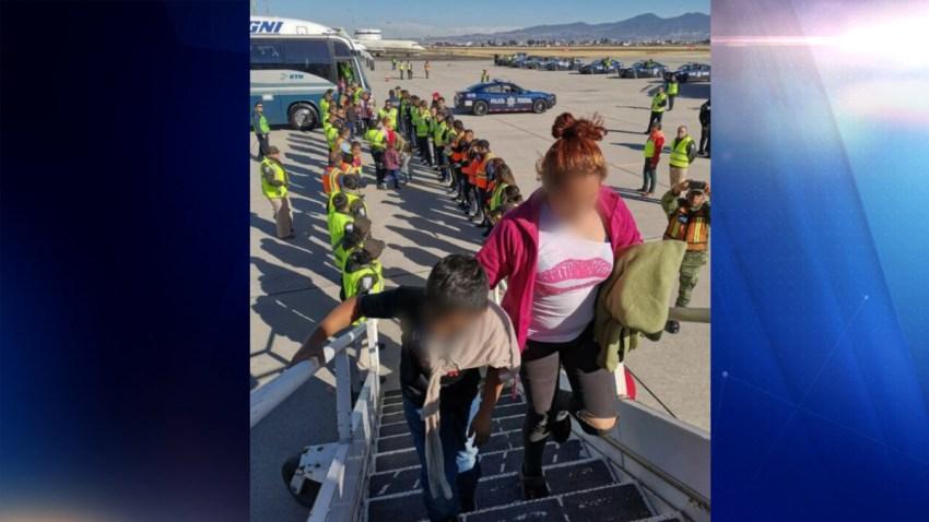 Deportan a migrantes hondureños.