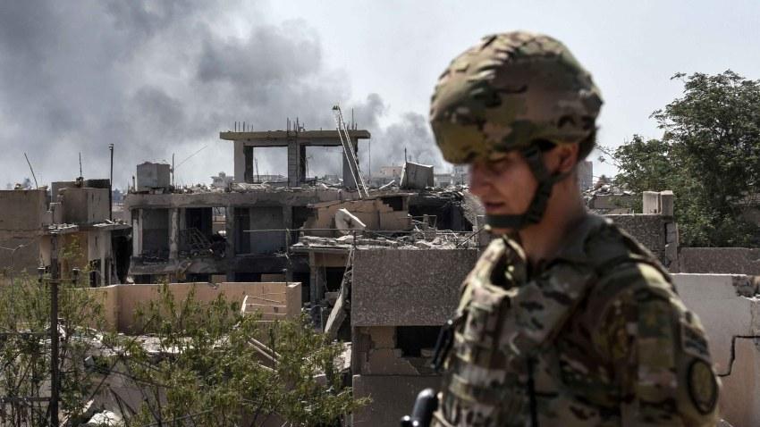 Foto soldado de Estados Unidos en Irak