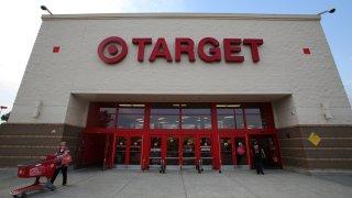 Fachada de tienda Target en New Jersey.