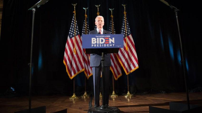 El virtual candidato presidencial demócrata Joe Biden.