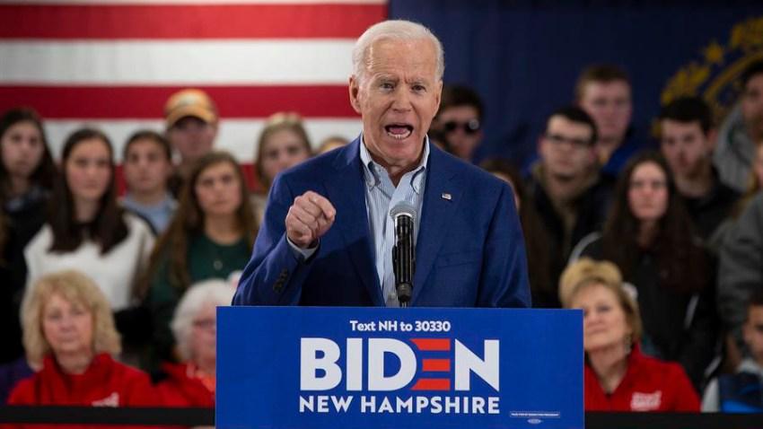 En la imagen, el exvicepresidente estadounidense Joe Biden