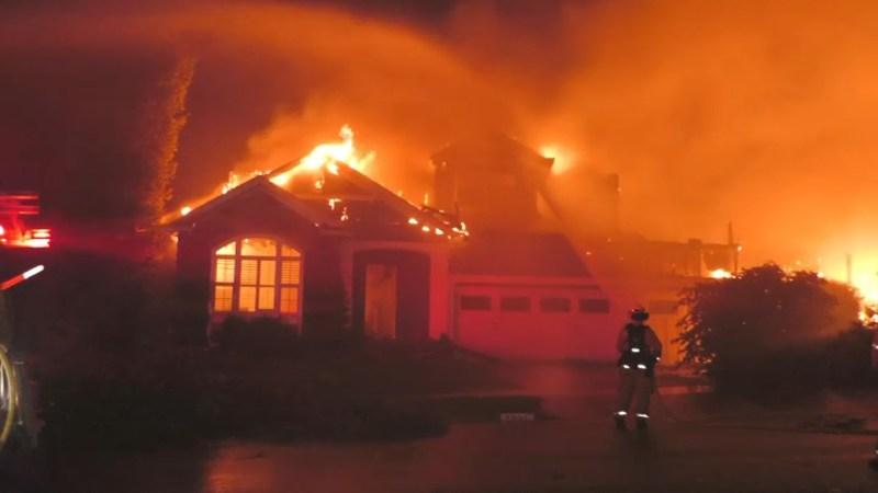 En fotos: Condado Napa y Sonoma sumidos en un infierno debido a incendios