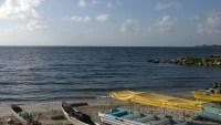 Irreconocible: esta paradisíaca playa ahora parece un basural
