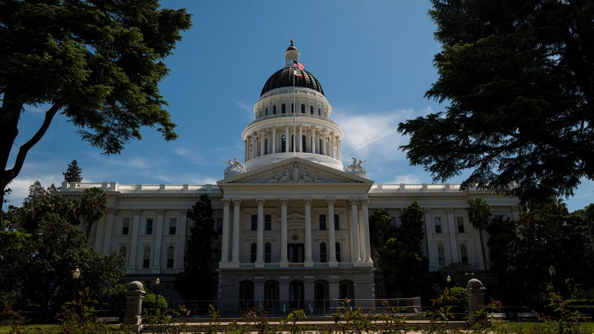 California's Capitol As States Team Up On Reopening Plans