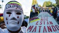 """""""Nos están matando"""", gritó Lucas Villa antes de ser baleado ocho veces en Colombia"""