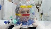 Innovador y a bajo costo: país latinoamericano desarrolla un casco de respiración artificial