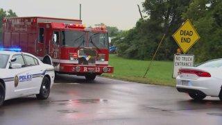 Bomberos en Tennessee cierran calles por fuga de amoniaco