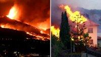 Erupción de volcán en isla española: ríos de lava se tragan más de 160 casas